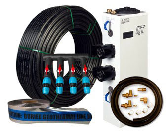 4 TON UNIT  GEOTHERMAL INSTALL PACKAGE