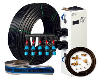 5 TON UNIT GEOTHERMAL INSTALL PACKAGE